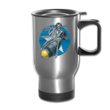 DEATH FROM ABOVE TRAVEL MUG - silver