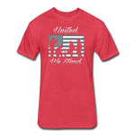 UNITED WE STAND - heather red