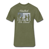 UNITED WE STAND - heather military green