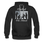 UNITED WE STAND HOODIE - black