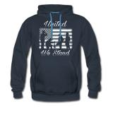 UNITED WE STAND HOODIE - navy