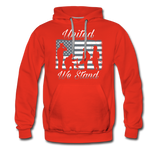 UNITED WE STAND HOODIE - red