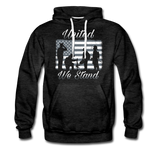 UNITED WE STAND HOODIE - charcoal gray