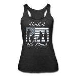 UNTIED WE STAND TANK - heather black