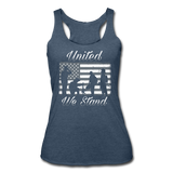 UNTIED WE STAND TANK - heather navy