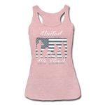 UNTIED WE STAND TANK - heather dusty rose