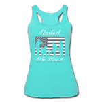 UNTIED WE STAND TANK - turquoise