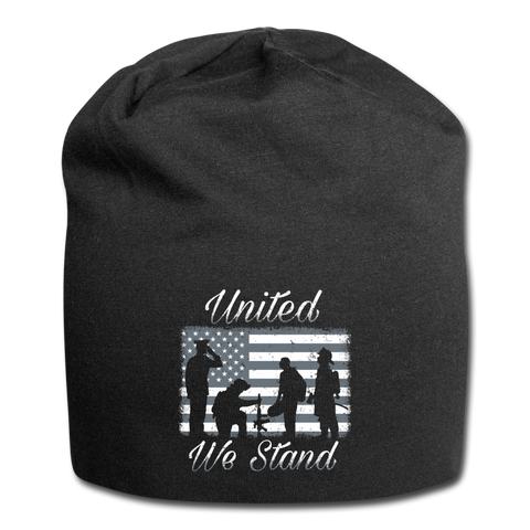 UNITED WE STAND BEANIE - black