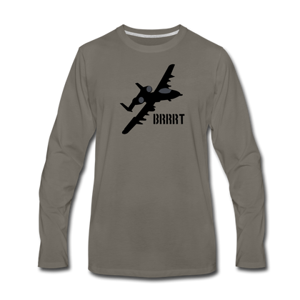 BRRRT LONG SLEEVE - asphalt gray