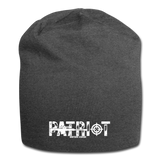 PATRIOT BEANIE - charcoal gray