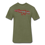 TARGET PRACTICE - heather military green