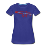TARGET PRACTICE WOMENS - royal blue