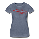 TARGET PRACTICE WOMENS - heather blue