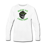 GOING DARK LONG SLEEVE - white