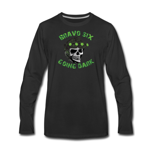 GOING DARK LONG SLEEVE - black