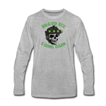 GOING DARK LONG SLEEVE - heather gray