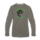 GOING DARK LONG SLEEVE - asphalt gray