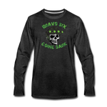 GOING DARK LONG SLEEVE - charcoal gray