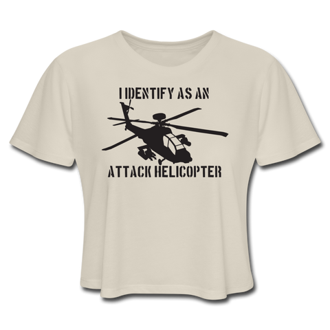 ATTACK HELICOPTER CROP TOP - dust