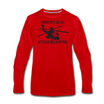 ATTACK HELICOPTER LONG SLEEVE - red