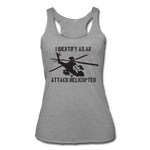 ATTACK HELICOPTER TANK - heather gray