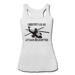 ATTACK HELICOPTER TANK - heather white