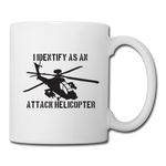ATTACK HELICOPTER MUG - white