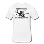 ATTACK HELICOPTER - white