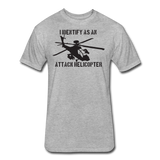 ATTACK HELICOPTER - heather gray