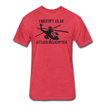 ATTACK HELICOPTER - heather red