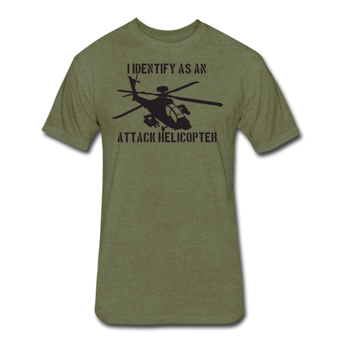ATTACK HELICOPTER - heather military green
