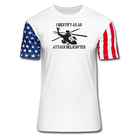 ATTACK HELICOPTER STARS - white