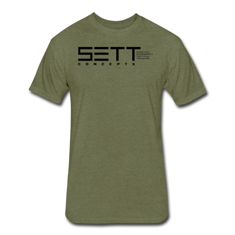 SETT CONCEPTS - heather military green