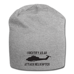 ATTACK COBRA BEANIE - heather gray