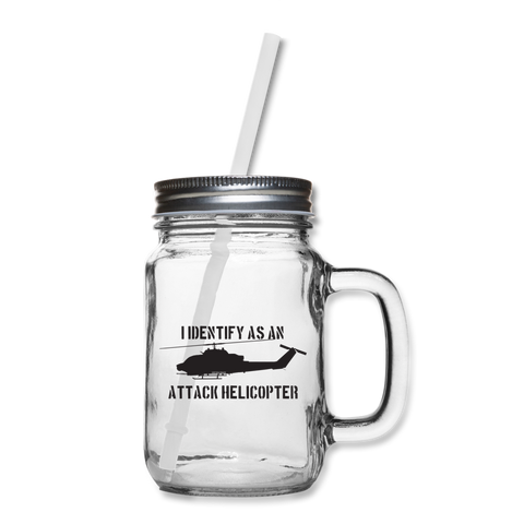 ATTACK COBRA MASON JAR - clear