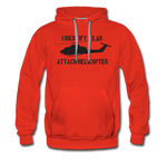 ATTACK COBRA HOODIE - red