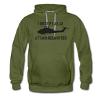 ATTACK COBRA HOODIE - olive green