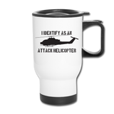 ATTACK COBRA TRAVEL MUG - white