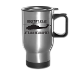 ATTACK COBRA TRAVEL MUG - silver