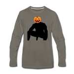 JACK-O-WOOD LONG SLEEVE - asphalt gray