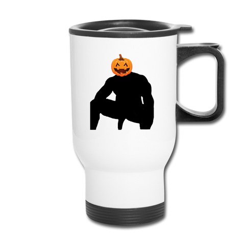 JACK-O-WOOD TRAVEL MUG - white