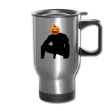 JACK-O-WOOD TRAVEL MUG - silver