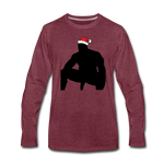 JOLLY WOOD LONG SLEEVE - heather burgundy
