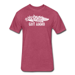 GOT AMMO - heather burgundy
