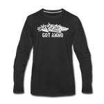 GOT AMMO LONG SLEEVE - black