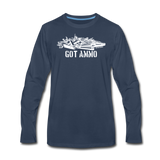 GOT AMMO LONG SLEEVE - navy