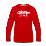 GOT AMMO LONG SLEEVE - red