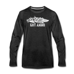 GOT AMMO LONG SLEEVE - charcoal gray