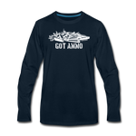 GOT AMMO LONG SLEEVE - deep navy