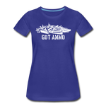 GOT AMMO WOMENS - royal blue